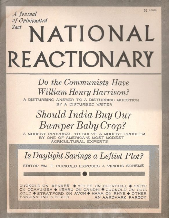 Aardvark's National Review parody