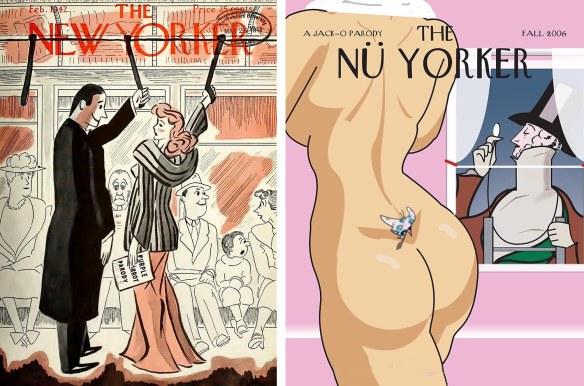 New Yorker parodies from Northwestern and Dartmouth