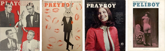 Four Playboy parodies.