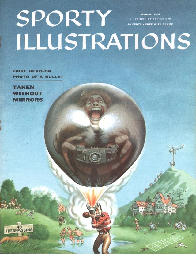 Will Elder's SI cover in Trump #2, March 1957.