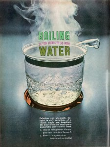 Esquire's full-page boiling water photo.