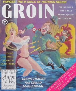 "Another ""new costume"": 1967's ""Groin."""