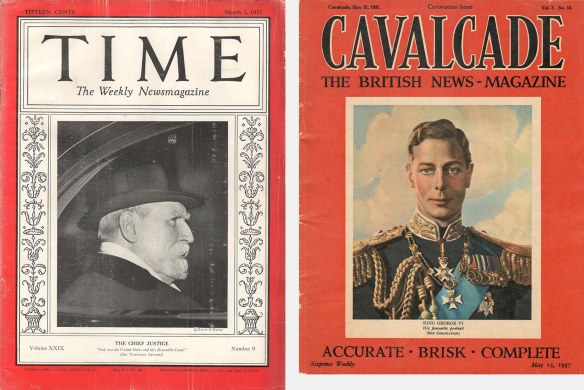 Covers of Time and Cavalier