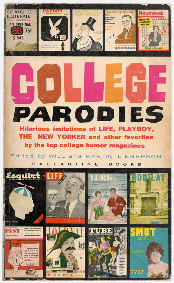 College Parodies cover