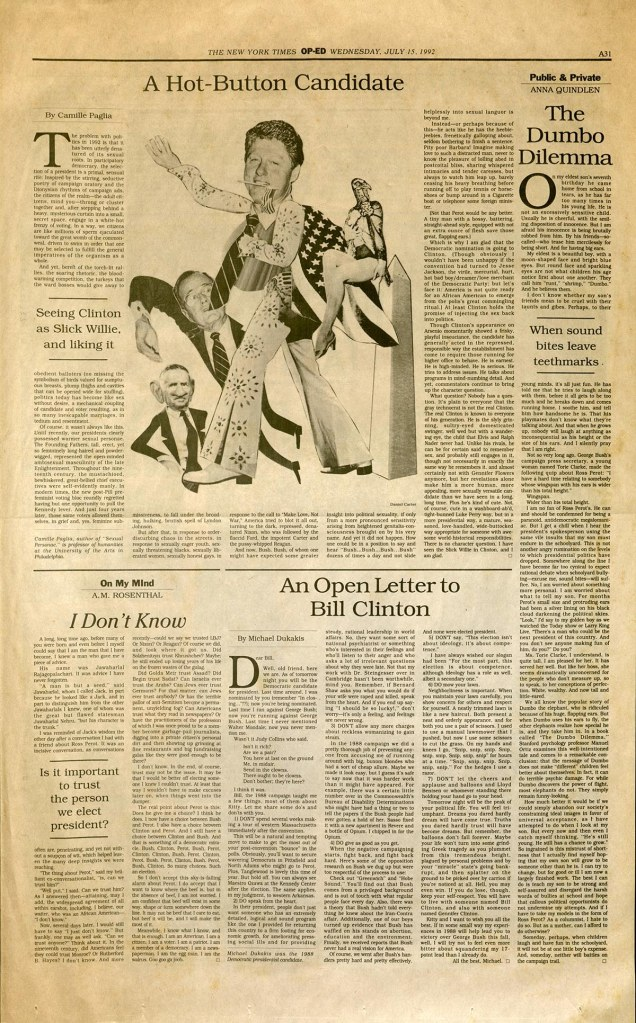 Spy's 1992 Times parody page 3