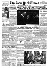 Real Times front page for July 15, 1992