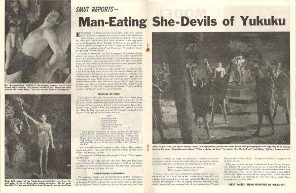 Smut's man-eating she-devil story