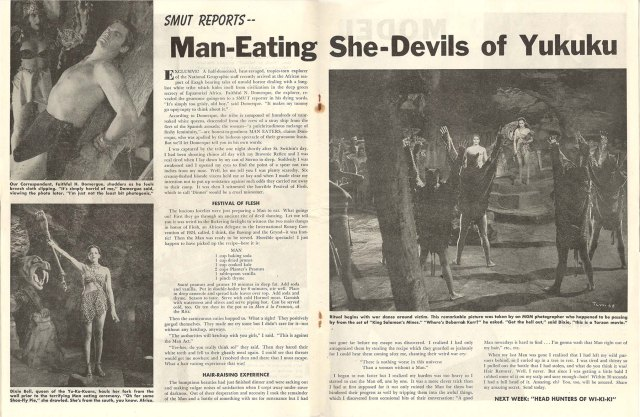 Smut's man-eating she-devil story
