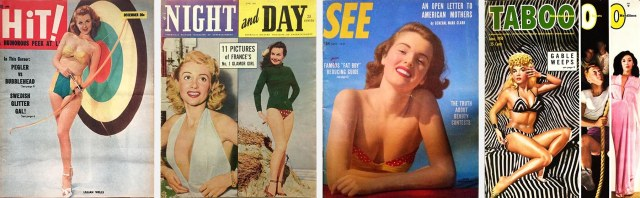 Covers of Hit, Night and Day, See and Taboo