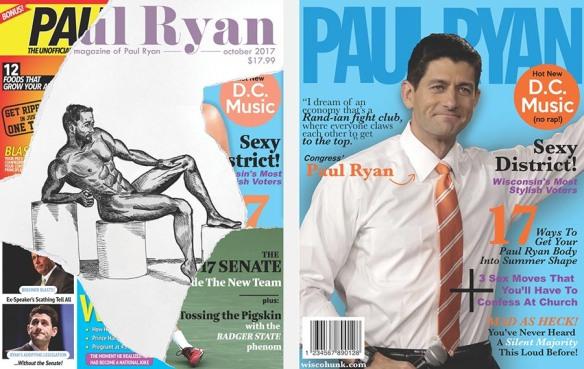 Prototype covers for Paul Ryan parody