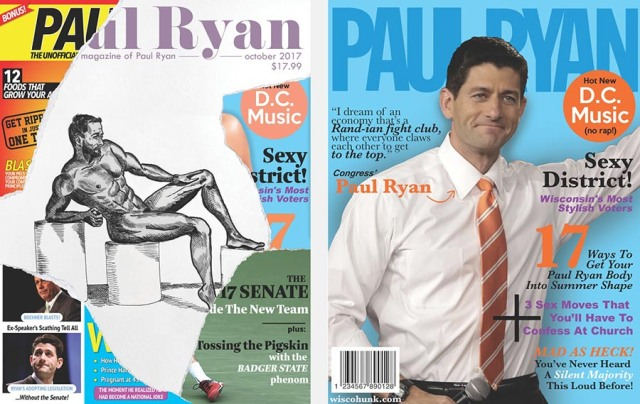 Prototype covers for Paul Ryan parody