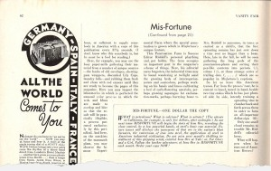 """Last page of """"mis-Fortune"""""""