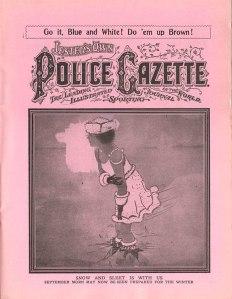 1919 Police Gazette parody