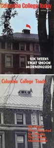 Real and parody versions of Columbia College Today