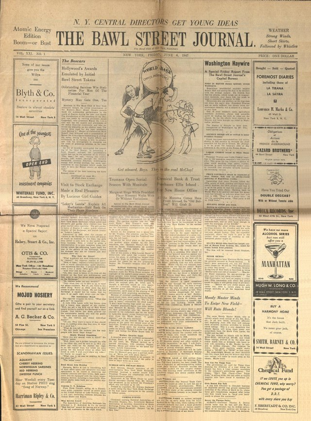 1947 Bawl Street Journal