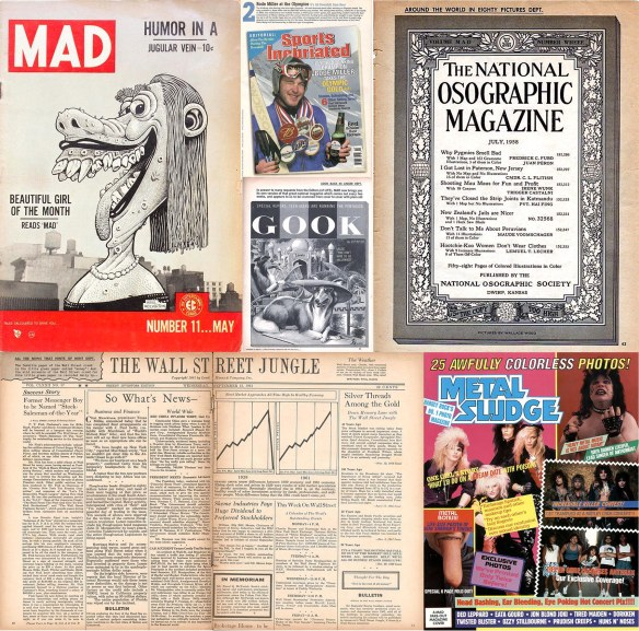 Seven Mad parodies from 1954-2006
