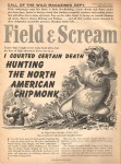"""First page of """"Field & Scream"""""""