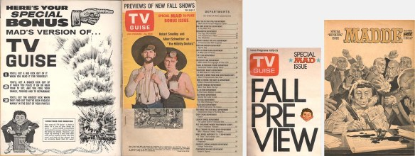 """TV Guide parodies and 1776 """"Madde."""""""