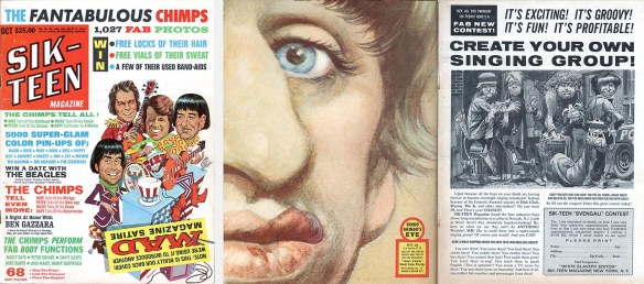 Pages of Mad's 1968 16 parody