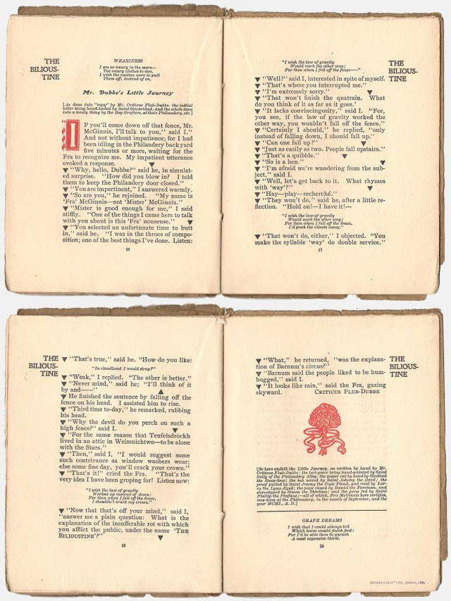 Four pages from the Bilioustine
