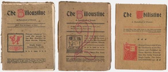 Bilioustine and Philistine covers