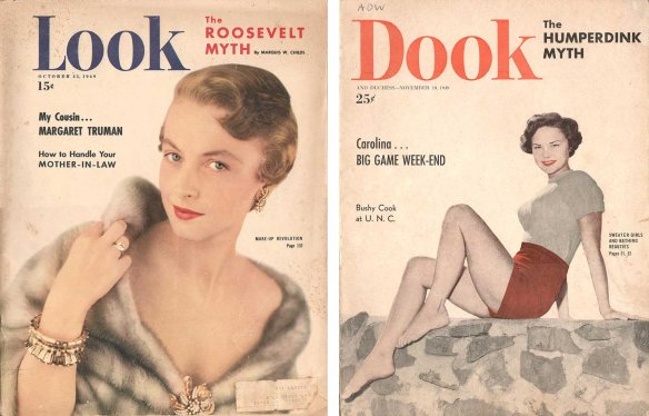 Covers of real Look and fake Dook
