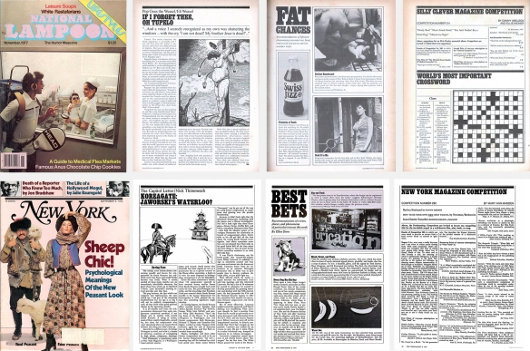 Pages from the Lifestyles issue