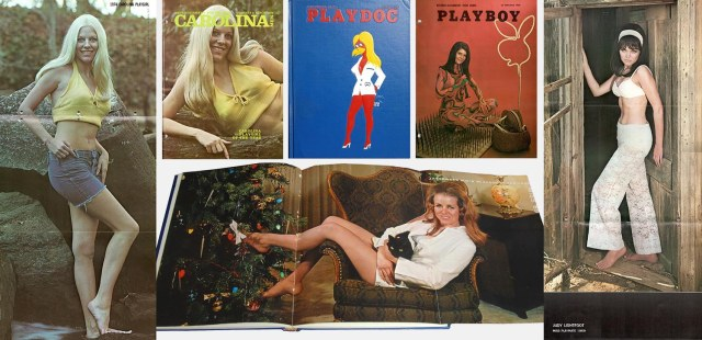 Covers and foldouts from three yearbooks.