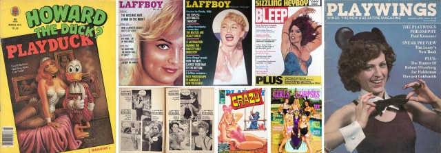 Covers of semi- and non-parodies.