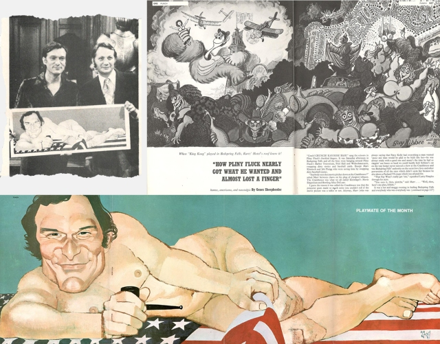 Pages from Punch's U.S. Playboy