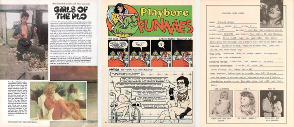 Three pages from Playbore