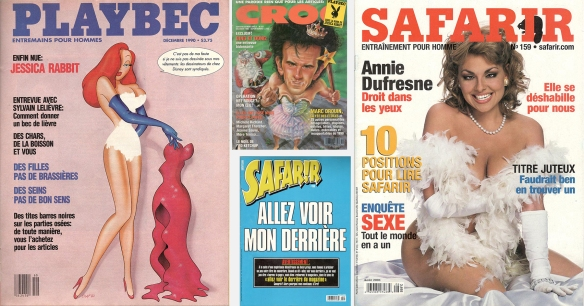 Playboy parodies from Montreal's Croc and Safarir