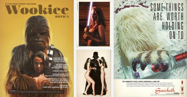 Pages from Wookieerotica
