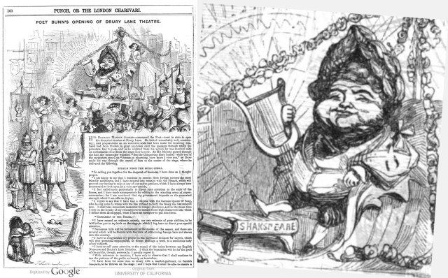 Bunn in Punch, 1845