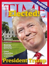 """""""Trump Time"""" cover, 2016"""