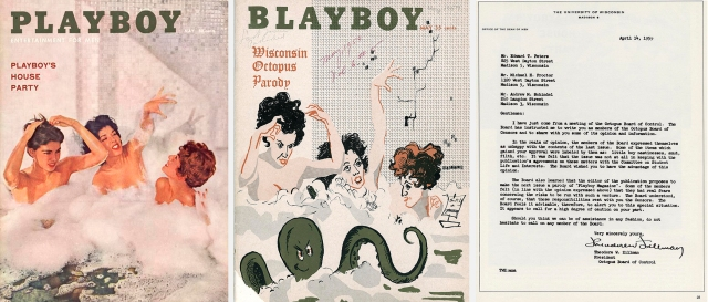Covers of Playboy and parody