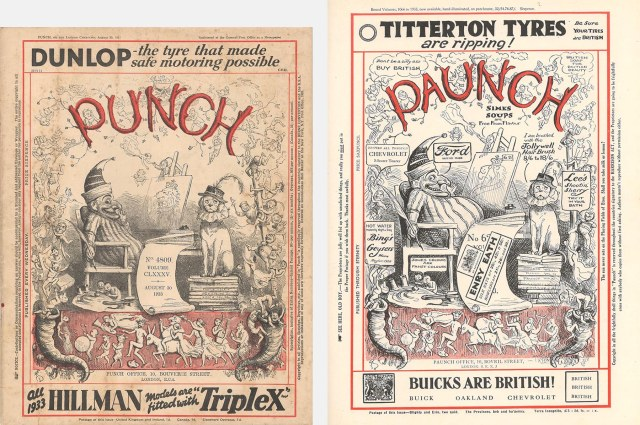 Punch and Paunch covers