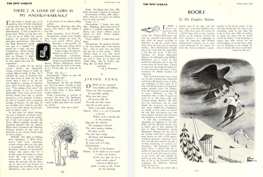 Pages of Punch New Yorker