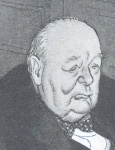 Caricature of Churchill in Punch