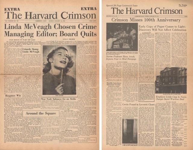 Crimson parodies from 1966 and 1973